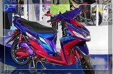 Modifikasi Mio M3 2018 by 30 Foto Gambar Modifikasi Mio M3 125 Blue Velg 17