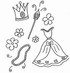 Ausmalbild Prinzessin Kleid Ausmalbild Prinzessin Kleidung Und Einer
