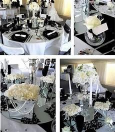 royal wedding accessories black and white wedding decoration ideas
