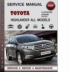 chilton car manuals free download 2011 toyota highlander security system toyota highlander service repair manual download info service manuals
