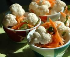 salade de choux fleur cru salade de chou fleur cru aux carottes recette de salade