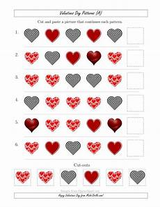 valentines day picture patterns with shape attribute only a