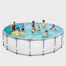 Frame Pool Rund - frame pool prime rund elite 427 x 107 cm gartenbau