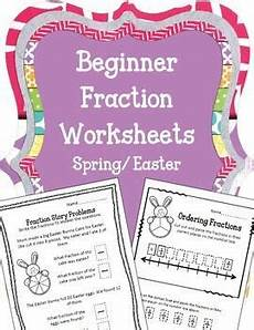 fraction stories worksheets 4109 easter beginner fraction worksheets bunnies story problems fractions worksheets