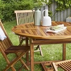 jardin teck salon de jardin en bois de teck huil 233 bali 6 8 places