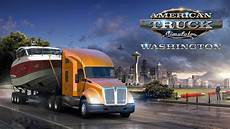 american truck simulator washington dlc