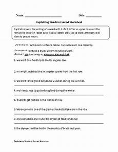 capitalizing places worksheets 15962 englishlinx capitalization worksheets