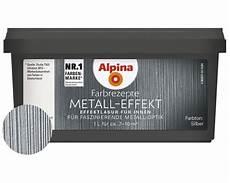 alpina farbrezepte effektlasur metall effekt silber 1 l