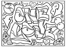 Graffiti Malvorlagen Word Quot One Quot Graffiti Free Coloring Page Graffiti