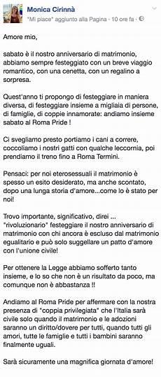 lettere per un matrimonio cirinn 224 anniversario di nozze al roma pride per