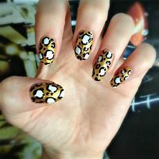diy metallic leopard print nail art burkatron