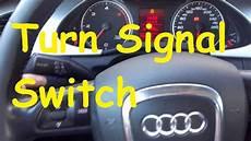 Audi A4 B8 Turn Signal Problem Turn Signal Switch