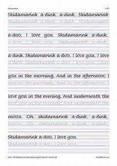 handwriting improving worksheets 21416 skidamarinks italic handwriting worksheets penmanship worksheets learn