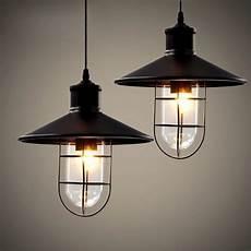luminaire industriel suspension nordique r 233 tro en fer forg 233 de style industriel pendentif