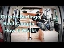 Amdro Boot Jump Camper Car Unit For Berlingo Partner