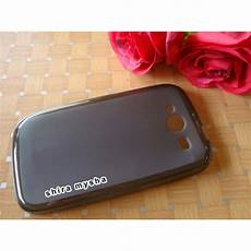 jual silikon soft case evercoss cross a22 hitam shira shop shira mysha