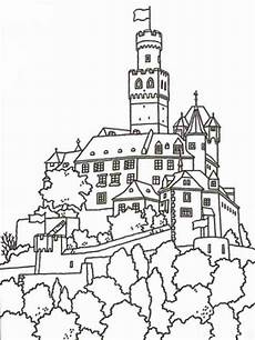 castle coloring pages and print castle coloring