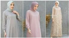Model Baju Gamis Simple Elegan Cocok Buat Pesta Kondangan