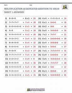 multiplication worksheets up to 10 4627 multiplication facts worksheets understanding multiplication to 10x10
