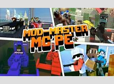 Master Mods for minecraft PE   mod mcpe Addons for Android