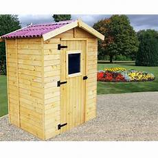 petit abri de jardin bois 2 61 m 178 ep 16 mm habrita
