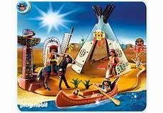Playmobil Ausmalbilder Indianer Superset Indianerlager 4012 A Playmobil 174 Deutschland