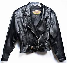 Ebay Harley Davidson Leather Jackets by Vintage Harley Davidson Motorcycle Jacket S Black