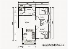 Gambar Denah Rumah Minimalis Sederhana Design Rumah