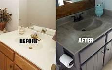 bathroom marble sink makeover diy