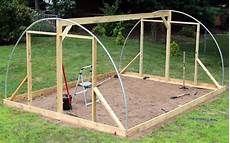 hoop house greenhouse plans hoophouse greenhouse diy design end wall structure build 1