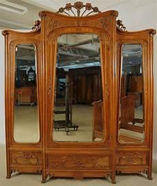 seltenes 8 teiliges jugendstil schlafzimmer aus mahagoni