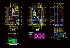 house plan dwg two story house with garage 2d dwg plan for autocad