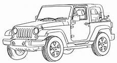 Bilder Zum Ausmalen Jeep Jeep Wrangler Road Coloring Page Road Car Car