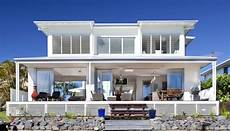 oceanfront house plans airy beachfront home with contemporary casual style