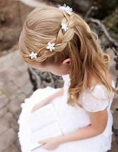Kommunion Frisur Geflochten - 35 fancy flower hairstyles for every wedding