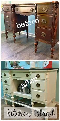Kitchen Lowboy Buffet by Diy Kitchen Island From A Desk Great Repurposed Items