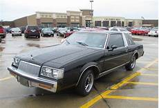 curbside classic 1986 buick regal limited rhapsody in black