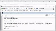 vba inputbox create inputbox in excel vba step by step guide