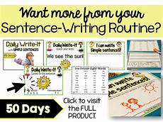 check out 17 simple 2 how to teach sentence writing in primary k 2 teacher toni