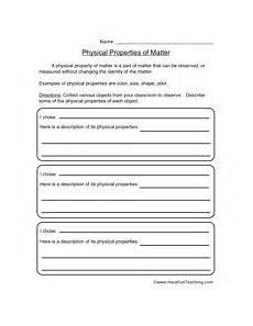 physical science worksheets grade 11 13015 properties of matter worksheet 1 projects to try matter worksheets science