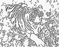 Malvorlagen Tiger Motor Bengal Tiger Coloring Pages Coloring Home