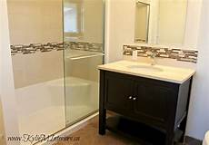 Bathroom Ideas With Oak Cabinets by Updated 1980 S Bathroom Replace Oak Cabinets With An