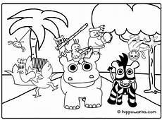 jungle printable coloring pages coloring home