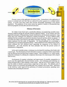 complete high school forensic science curriculum online biological science ideas for all