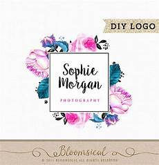 floral business card template photoshop pin by bloomsical on bloomsical shop floral logo logos