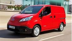 Nissan E Nv200 Reichweite - elektro transporter neuer nissan e nv200 kostet ab 28 660