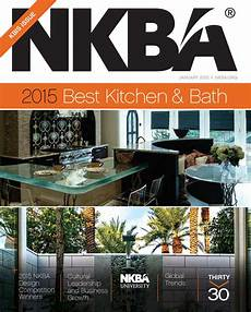 Kitchen And Bath Design Principles by Nkba Magazine Kbis Issue January 2015 By National