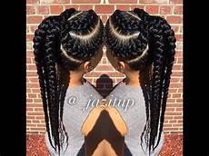 hairstyles for big braids unique big cornrow hairstyles for beautiful jumbo