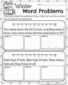 word problem worksheets kindergarten 11061 kindergarten math and literacy worksheets for february planning playtime