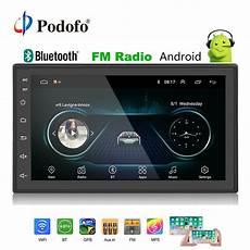 2 din autoradio podofo 2din car radio android multimedia player autoradio